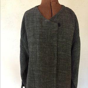 Eileen Fisher Size L Linen blend top/jacket